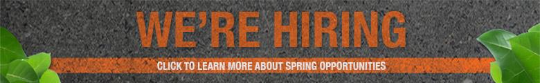 Spring Hiring Button